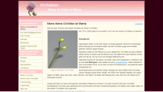 Screenshot orchideen.major-online.de